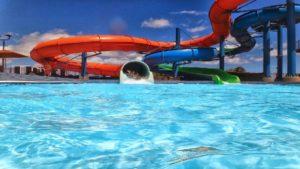 Impreza integracyjna w aquaparku